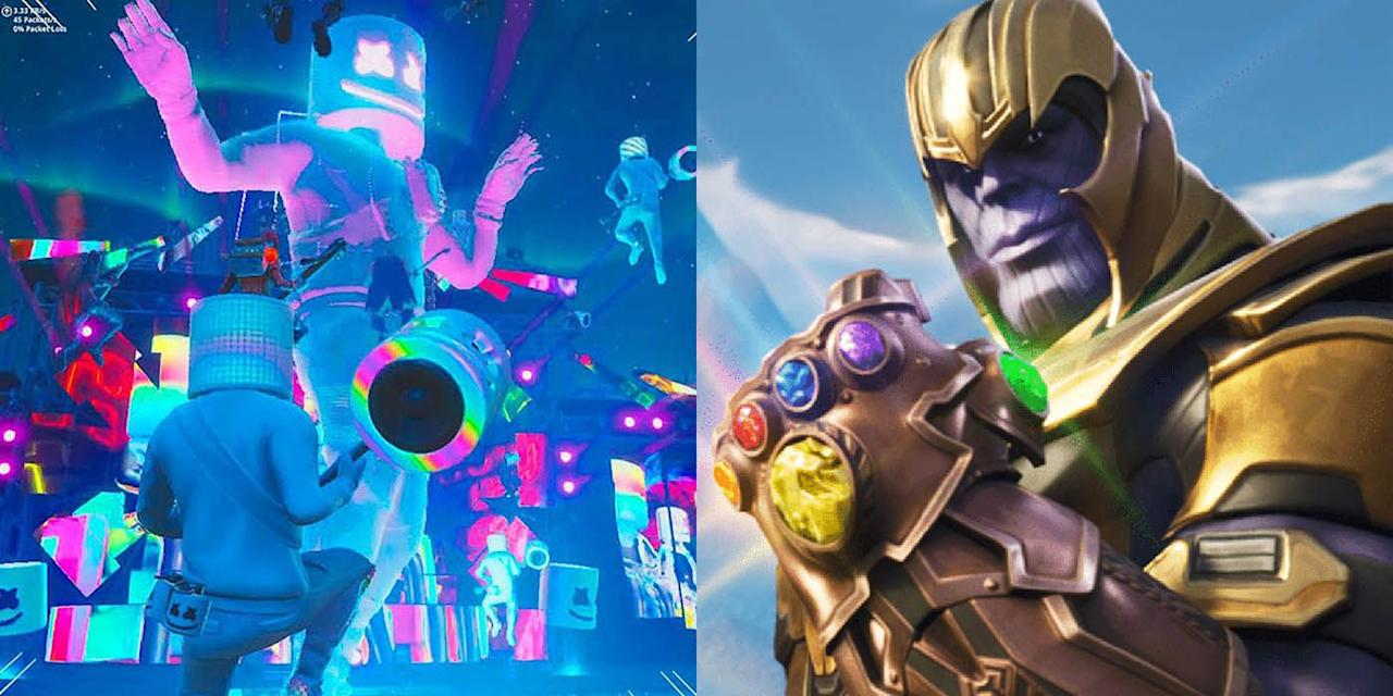 <p>Last spring, <em>Fortnite </em>made the shocking announcement that Thanos and the Infinity Gauntlet would be dropping in for a limited-time gaming mode. It was <em>Fortnite</em>'s first collaboration, and the most hyped. Since then, no other collab has matched the pure excitement brought on by Marvel's, but there have been new, surprising partnerships both in game and out of game. These are the best <em>Fortnite </em>collaborations to date.</p>