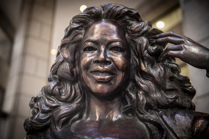Recognizable across the world, Oprah Winfrey is a global media leader, philanthropist, producer, actress, author and the world's first black female billionaire. (Photo: Gordon Donovan/Yahoo News)