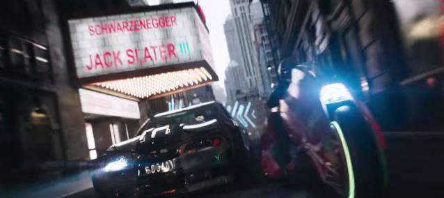 The <i>Last Action Hero</i> reference slipped into <i>Ready Player One</i> (Photo: Warner Bros.)