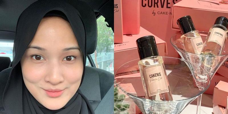 Hanis never explained how the essential oil would work to control a person's appetite. — Picture courtesy of Instagram/haniszalikha