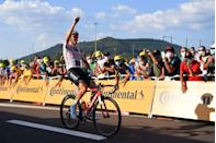<p><strong>Who's Winning the Tour?</strong></p><p>Stage 19 of the Tour de France looked on paper like a typical battle between the early break and the sprinters' teams, but the Classics specialists had other ideas. The initial flurry of attacks produced just one lone breakaway rider, Deceuninck-Quick Step's Remi Cavagna. That's rarely a recipe for success and, sure enough, with the gap dwindling in the last third of the race, the pack slowed to delay the catch and counter-attackers went clear, led by Classics-style riders like CCC's Greg van Avermaet and Matteo Trentin, Trek-Segafredo's Jasper Stuyven, and Bora-Hansgrohe's Peter Sagan. But of the 12 aspirants, it was Stage 14 winner Søren Kragh Andersen (Sunweb) who timed his own move right, jumping clear of the break with 16km to go and soloing home for a well-deserved second stage win and Sunweb's third of this Tour. </p><p><strong>Who's <em>Really</em> Winning the Tour?</strong></p><p>Yellow jersey Primož Roglič and his Jumbo-Visma team were only too happy to let the stage hunters duke it out, and aside from a minor crash and chase for EF Pro Cycling's Rigoberto Uran (eighth overall), the contenders stayed quiet ahead of Saturday's big time trial. Roglič has just one obstacle left to his victory in Paris: Saturday's individual time trial with a summit finish on the La Planche des Belles Filles climb. With nearly a minute to second-place Tadej Pogačar (UAE-Emirates) his lead seems secure, but anything is possible. Pogačar, by turn, is clearly in command of the white jersey for the race's best young rider. Look for the other GC placings to reorder some as well, and the race-within-a-race of INEOS-Grenadiers's Richard Carapaz's campaign to keep the KoM jersey, with points for the fastest ascent of the climb. Green jersey wearer Sam Bennett (Deceuninck-Quick Step) stayed comfortably in the lead in that competition and is a lock for the sprinters standings barring a surprise DNF. </p>