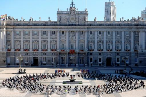 Badly-hit Spain pauses to honour its tens of thousands of victims at a state ceremony
