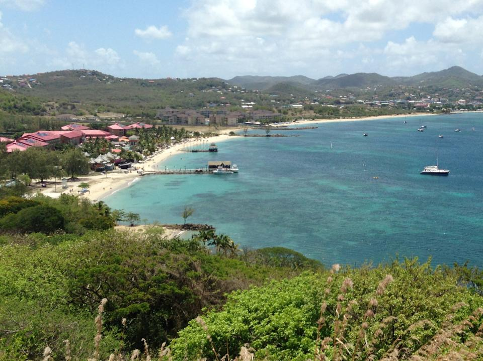 Distant dream: UK travellers arriving from St Lucia, as well as Antigua and Barbados, have been given an extra six days to comply (Simon Calder)