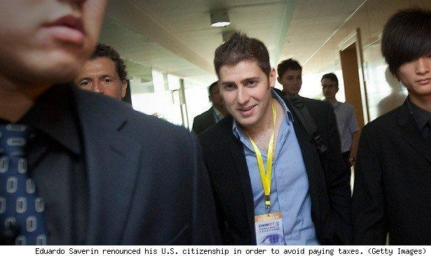 Eduardo Saverin renounced his U.S. citizenship in order to avoid paying taxes. (Getty Images)