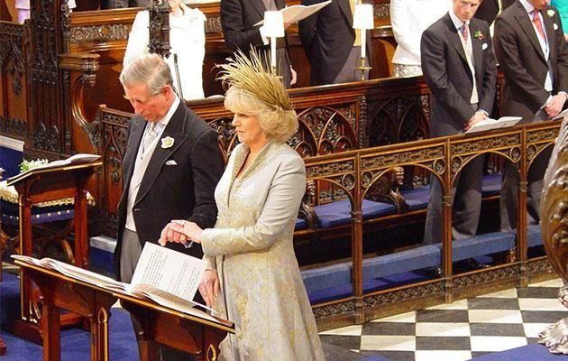 Both divorcees, Camilla and Charles tied the knot in a civil ceremony. Photo: Getty