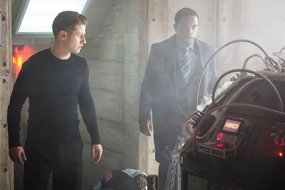 """<p><b>This Season's Theme: </b> The subtitle for the first half of the season is """"Mad City."""" That could mean characters dying, though, according to executive producer Ken Woodruff, there are even more painful fates. Last season, for example, Jim Gordon's (Ben McKenzie) moral fall led to """"everything he held dear called into question or lost altogether."""" Those are more interesting, he says, """"because the character is alive to suffer the agony of them."""" <br><br><b>Where We Left Off: </b> A bus full of Indian Hill escapees disappeared into Gotham, including someone who looks exactly like Bruce Wayne. Fish Mooney (Jada Pinkett-Smith) is back, but Gordon has left town to find Lee (Morena Baccarin). <br><br><b>Coming Up: </b> In Season 1, we saw a city rife with crime; Season 2 explained how super-powered villains came to be. Now, says Woodruff, """"we've set up the ground rules and we can bring in exotic characters to give the show the spectacle that comic book fans and our viewers look for."""" That includes everything from the silly (Tweedle Dum and Tweedle Dee) to the terrifying (Solomon Grundy) to the just plain odd (Mad Hatter). <br><br><b>The Power of Three:</b> The 22 episodes for this year will be split up into three parts: 11 episodes, 3 episodes, 8 episodes. Woodruff says that by doing it this way, """"You can tell the beginning, middle, and end to a story,"""" giving it the feel of """"a really good movie."""" <i>– RC</i> <br><br>(Credit: Jeff Neumann/Fox)</p>"""