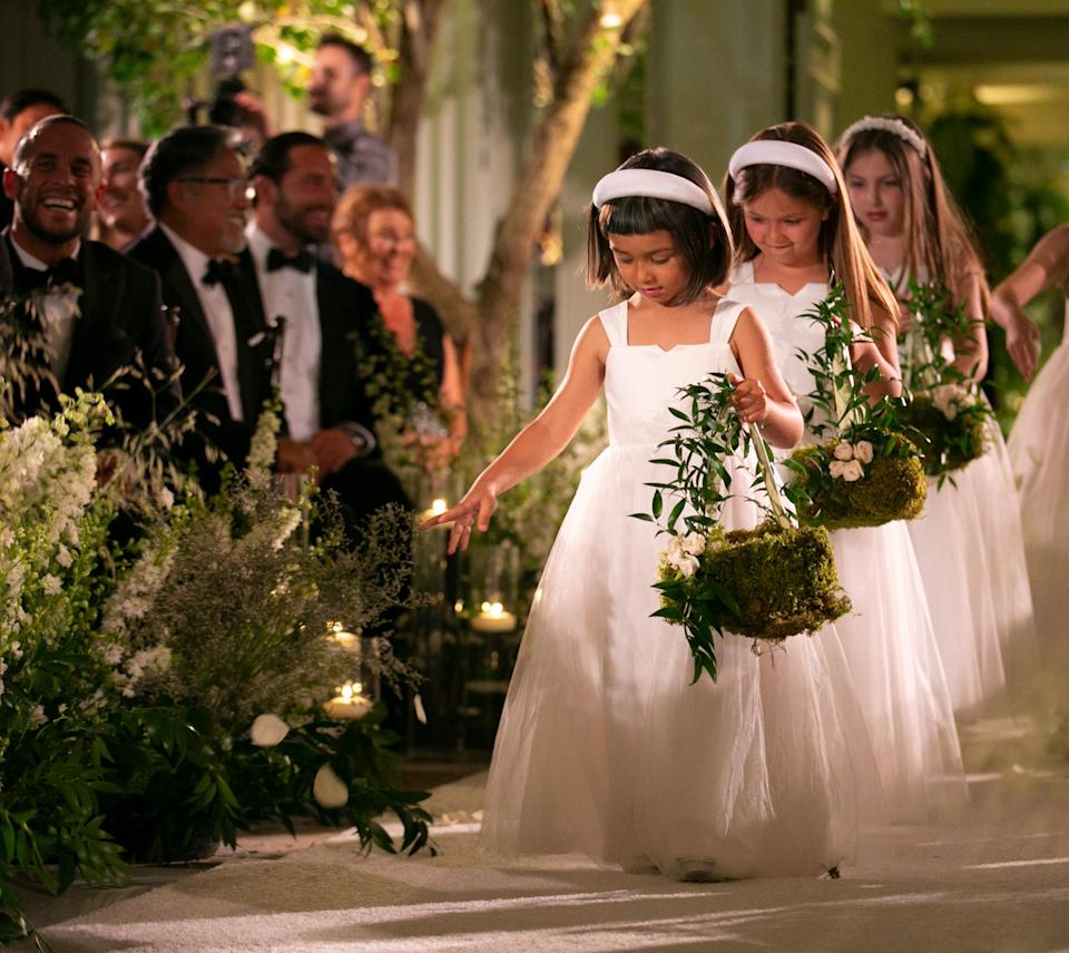 Our flower girls.