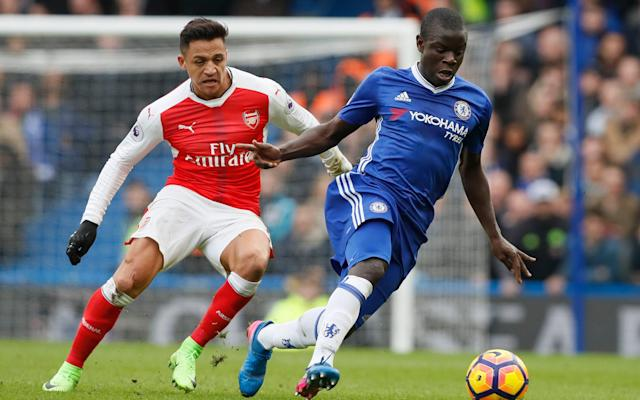 <span>Arsene Wenger says comparing Granit Xhaka with N'Golo Kante (right) is unfair</span> <span>Credit: AP </span>