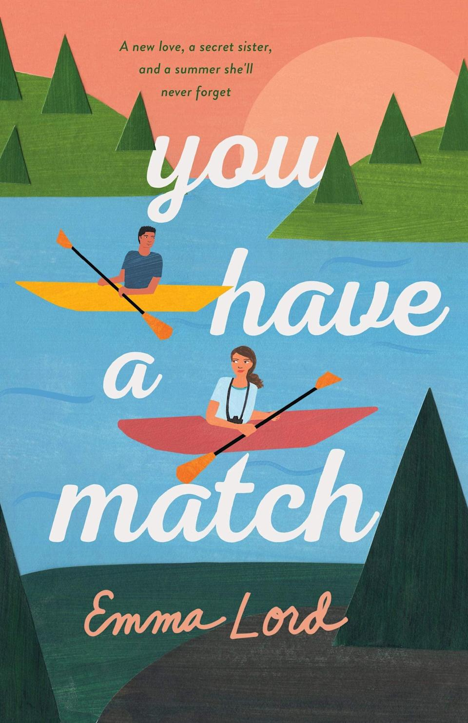 <p>Emma Lord's debut novel, <strong>Tweet Cute</strong>, was the charming YA rom-com readers needed in 2020, and her second book, <span><strong>You Have a Match</strong></span>, is set to be every bit as much fun as her first. When Abby signs up for a DNA service, her goal is simply to catch the attention of her crush and best friend Leo, but things get complicated when she discovers she has an older sister she didn't know existed. </p> <p><em>Out Jan. 5</em></p>
