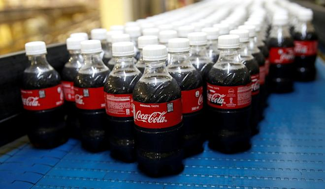 Coca-Cola says it is committed to recycling. Photo: Reuters