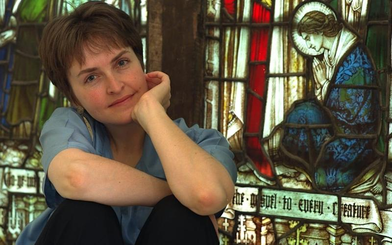 Catherine Fox in 1998, when her husband was vicar of St Pauls Church, Walsall - Credit: Eleanor Bentall