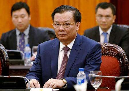 Vietnam's Finance Minister Dinh Tien Dung is seen during a meeting at the Government Office in Hanoi, Vietnam September 11, 2018. REUTERS/Kham