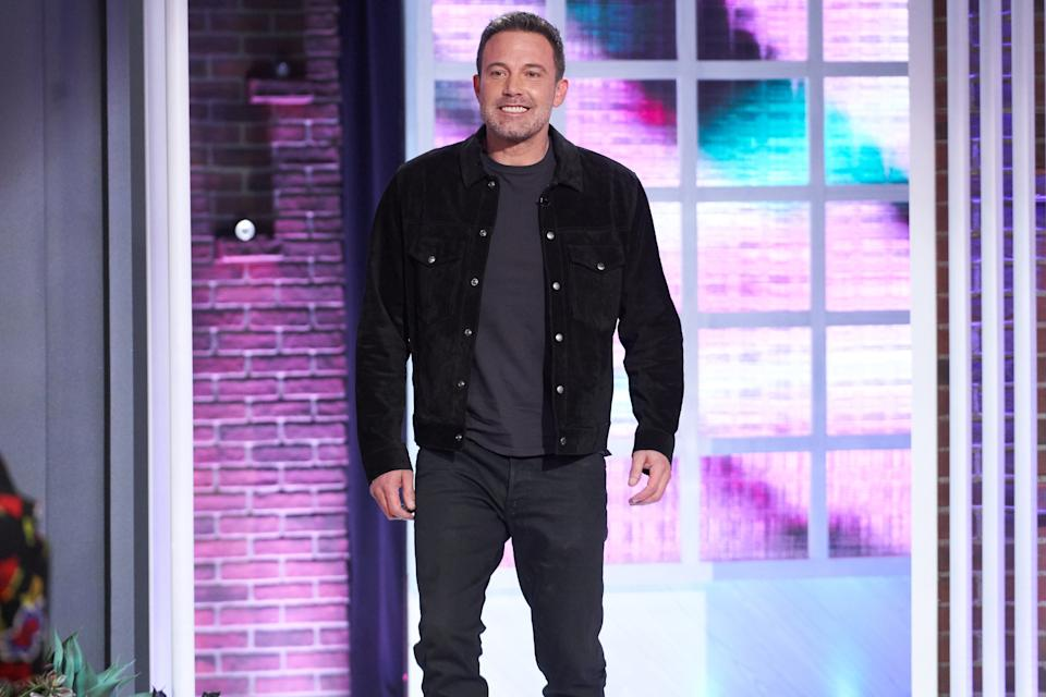 THE KELLY CLARKSON SHOW -- Episode 3124 -- Pictured: Ben Affleck -- (Photo by: Adam Christopher/NBC/NBCUniversalUniversal)