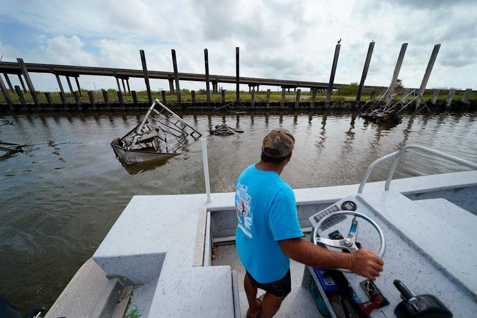 Hurricane Ida Louisiana Seafood (Copyright 2021 The Associated Press. All rights reserved.)