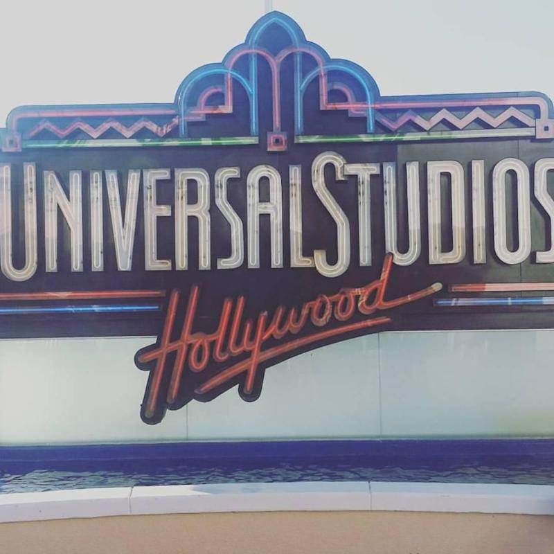 Thank you for having me Universal Studios Hollywood. Photo: Be