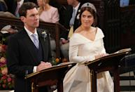 <p>When cameras caught Princess Eugenie looking adoringly at her groom. </p>