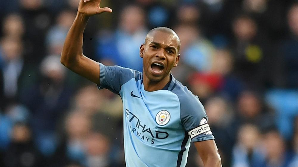 HD Fernandinho Manchester City