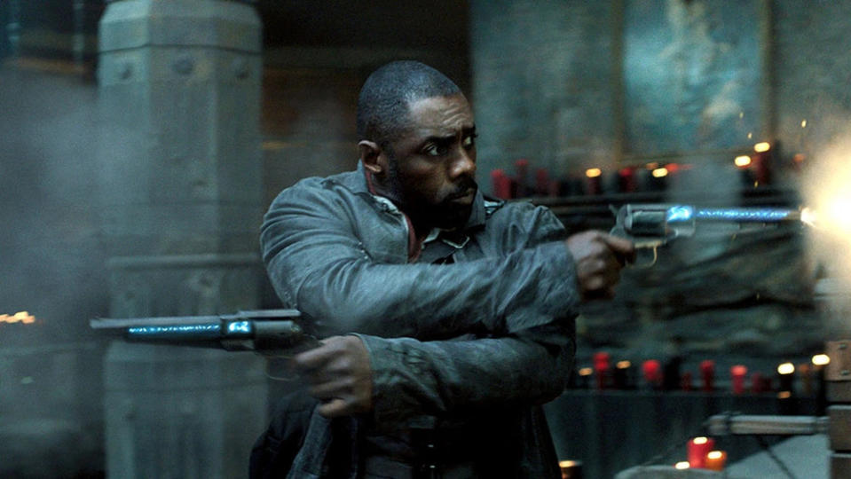 Idris Elba in the movie adaptation of Stephen King's 'The Dark Tower'. (Credit: Sony)