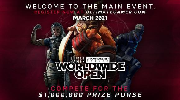 Ultimate Gamer will give away $1 million.