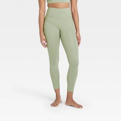 <p>Go green in these cute <span>All in Motion Contour Power Waist High-Waisted Leggings</span> ($25).</p>