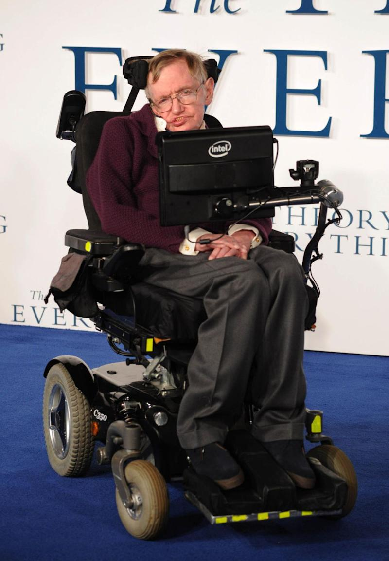 Stephen Hawking passed away at the age of 76 on March 14. Photo: AAP