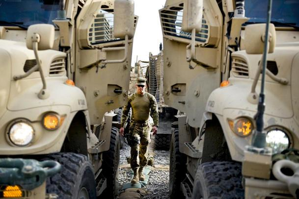 U.S. Army agribusiness truck