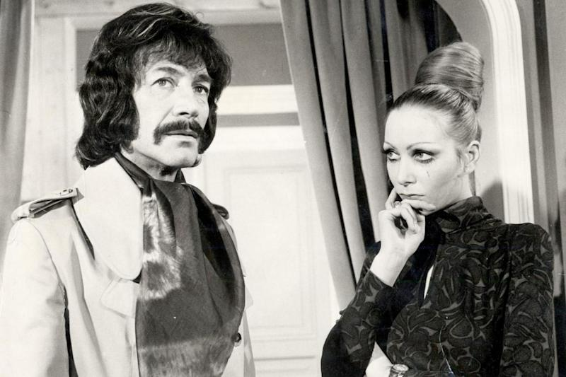 Iconic: Peter Wyngarde is best known for playing Jason King