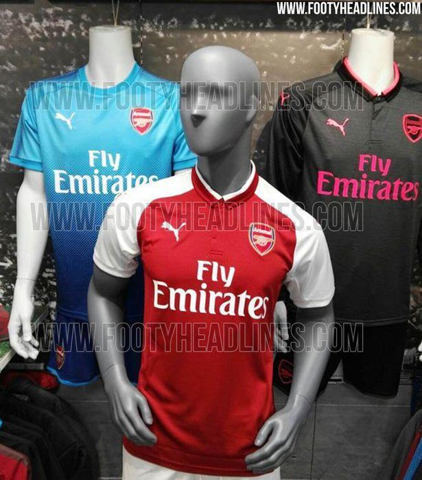 <p>Are these the kits the Gunners will be wearing next year? Will Arsene Wenger be in charge? Will Mesut Ozil or Alexis Sanchez be wearing it? So many questions! </p>