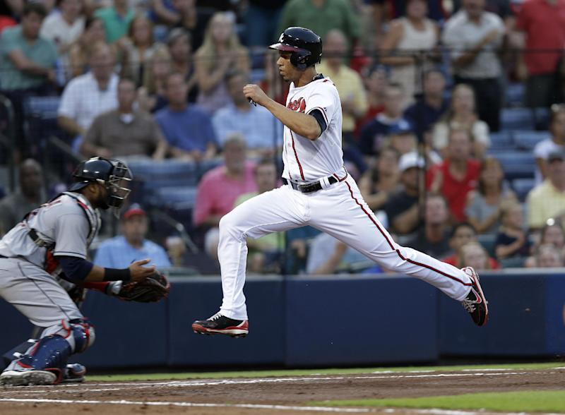 Johnson wins it in 9th, Braves beat Indians 3-2