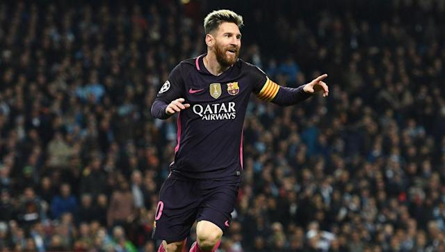 <p><strong>Number of Champions League goals: 94</strong></p> <br><p>The five time Ballon d'Or winner has broken records left, right and centre, but he falls just short in the all time Champions League scoring charts. </p> <br><p>However, the Barcelona talisman will feel confident that he will eventually end his career as the highest scoring player in the tournament's history, with Messi showing no signs of slowing at the age of 29.</p>