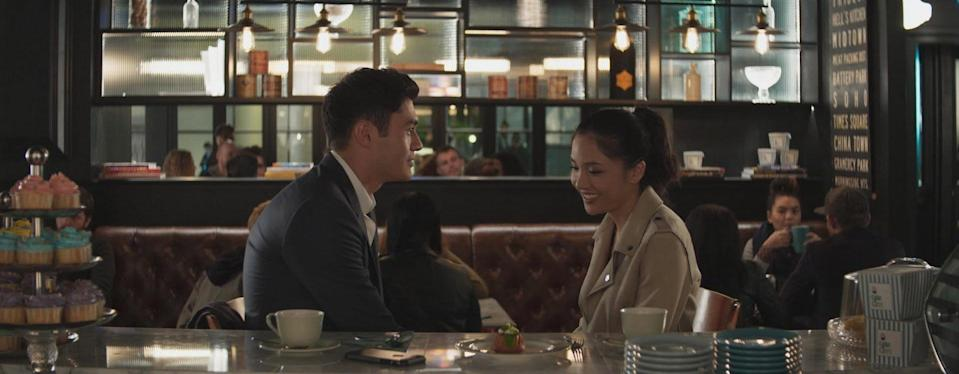 "Henry Golding and Constance Wu star in ""Crazy Rich Asians"". PHOTO: Warner Bros Singapore"