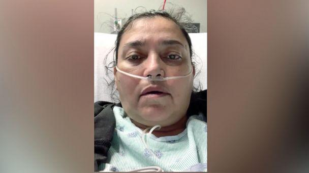 PHOTO: Enriqueta Aragonez was hospitalized with COVID-19 after joining family members at a relative's home. (City of Arlington/Twitter)
