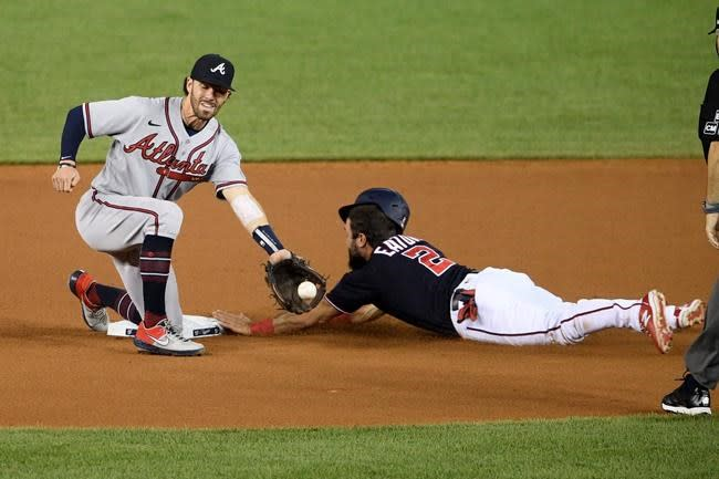 Braves beat Nationals 2-1 behind Anderson's strong outing