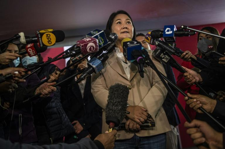 """""""There is no fear that this preventive detention will take place,"""" Keiko Fujimori said, her first reaction to a prosecutor's request for her to be detained on corruption charges"""