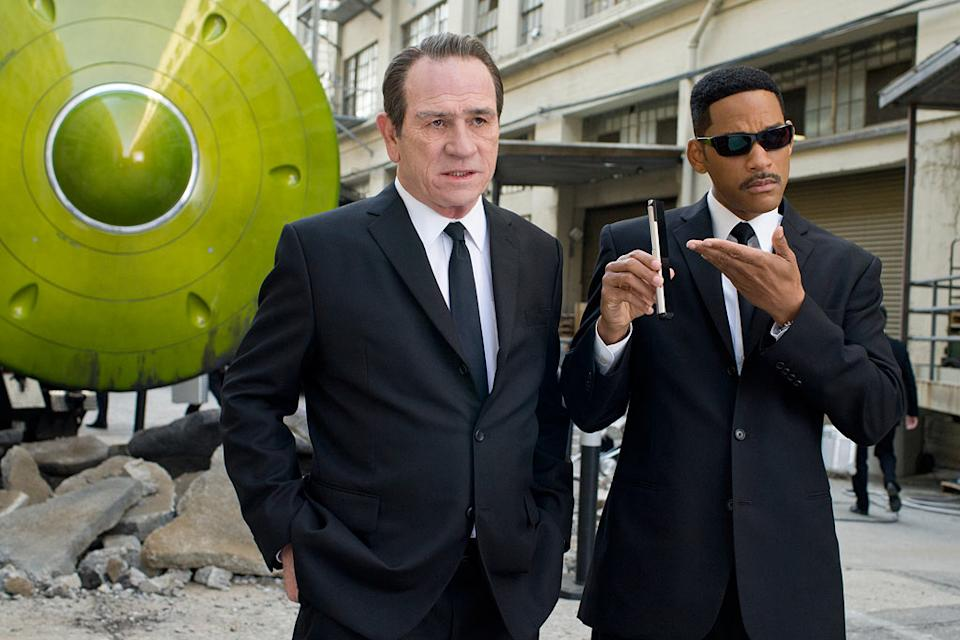 "Tommy Lee Jones and Will Smith in Columbia Pictures' ""Men in Black 3"" - 2012"