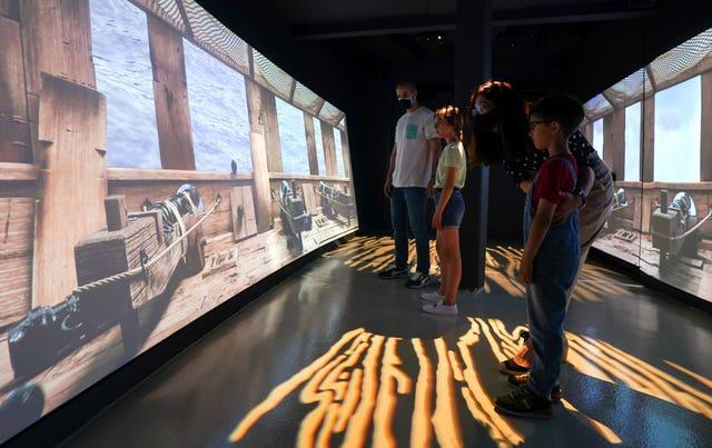 1545 experience at The Mary Rose exhibition