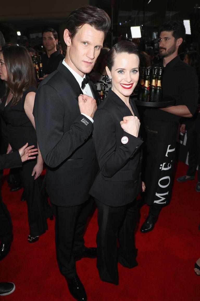 "<p>During an interview with <a href=""https://www.buzzfeed.com/scottybryan/matt-smith-claire-foy-quiz?utm_term=.jdLpeKklE#.vppLpDQx8"" rel=""nofollow noopener"" target=""_blank"" data-ylk=""slk:BuzzFeed UK"" class=""link rapid-noclick-resp""><em>BuzzFeed UK</em></a>, Claire Foy and Matt Smith tried their hand at royal trivia and, well, they didn't do great. </p>"