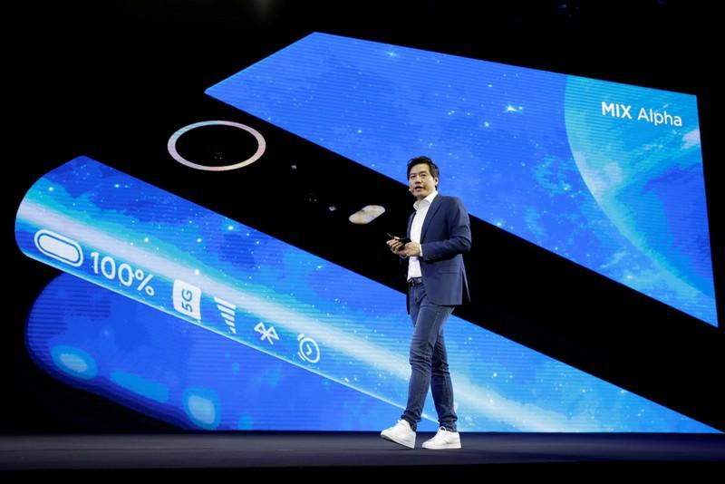 FILE PHOTO: Xiaomi founder and CEO Lei Jun attends a product launch event of Xiaomi Mi MIX Alpha surround display 5G concept smartphone in Beijing