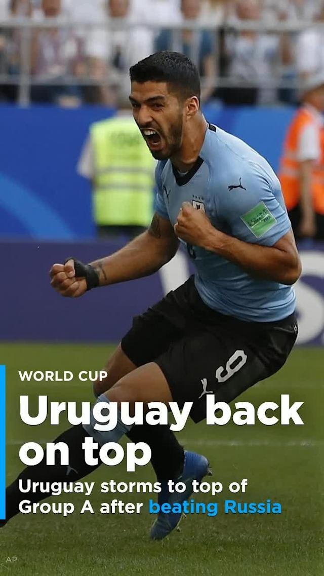 In their third and final group match, both the hosts Russia and visiting Uruguayans reverted to form. Both, finally, re-aligned with pre-tournament expectations. Uruguay won 3-0 to top Group A.