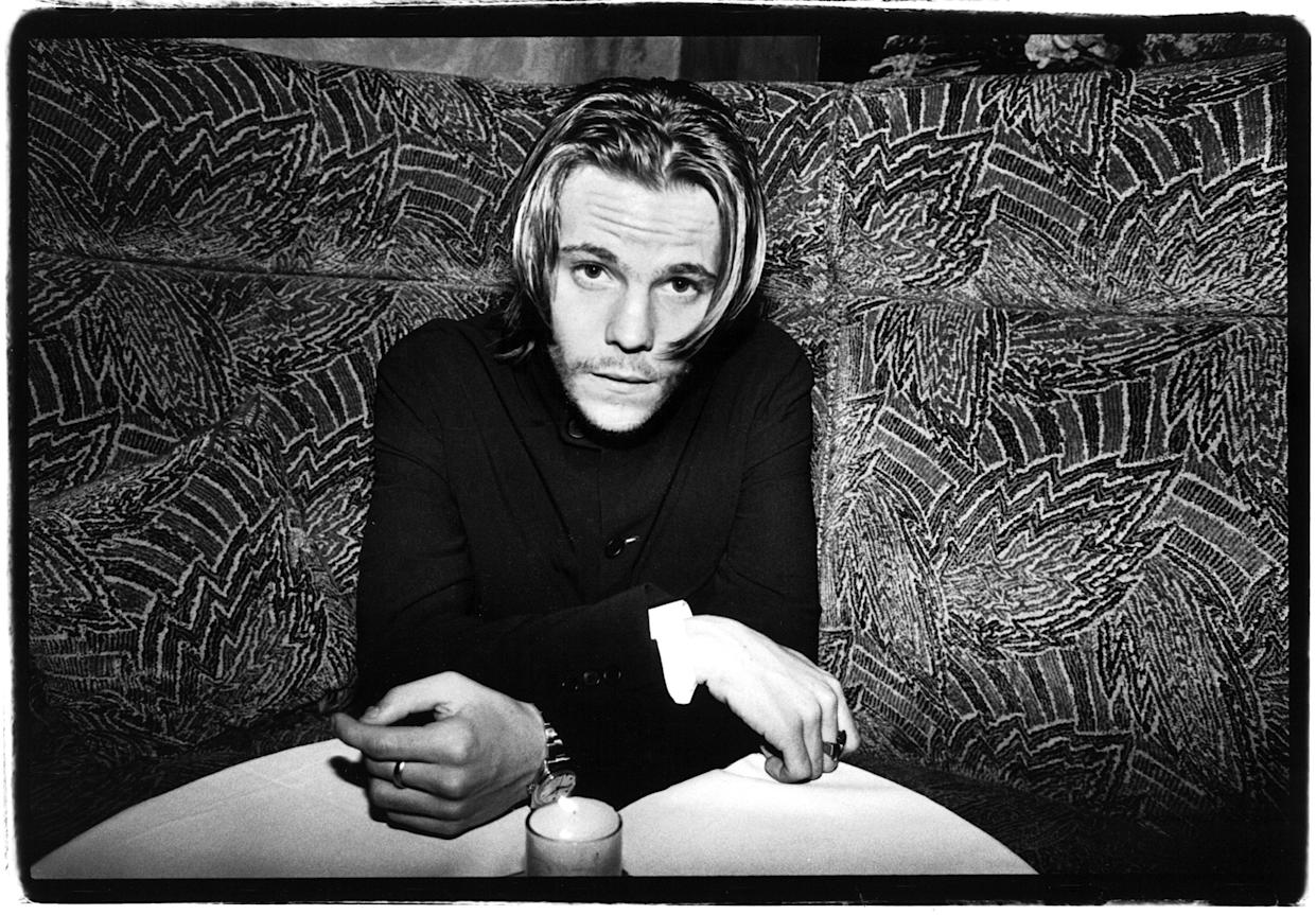 NEW YORK -APRIL 1994:  American actor Stephen Dorff  poses for a photo at a party to celebrate the opening of the film,