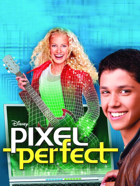 <p>Leah Pipes (<em>The Originals</em>) stars in this techno-thriller about a boy who uses his laptop to create a sexy, talented hologram who immediately becomes the world's biggest pop star. Loosely based on the true story of Jessica Simpson.<br><br> (<em>Credit: Disney Channel</em>) </p>