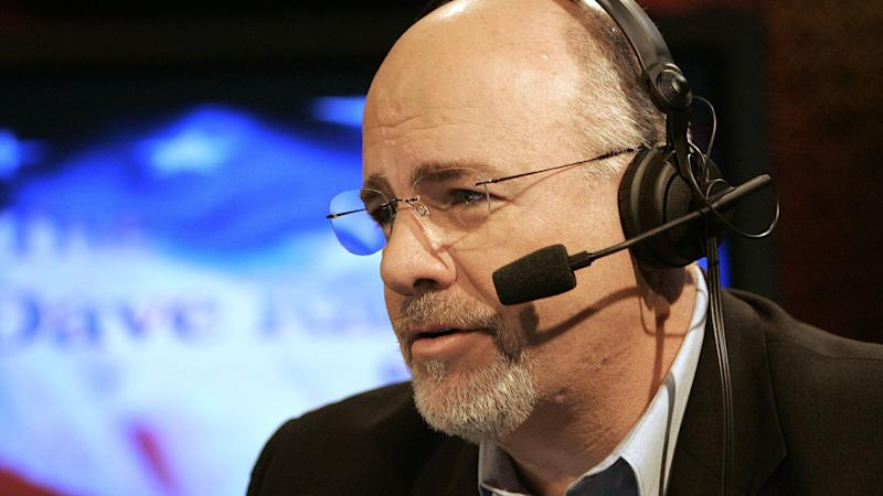 Mandatory Credit: Photo by MARK HUMPHREY/AP/REX/Shutterstock (6378435g)Dave Ramsey Financial talk show host Dave Ramsey works in his broadcast studio in Brentwood, Tenn.