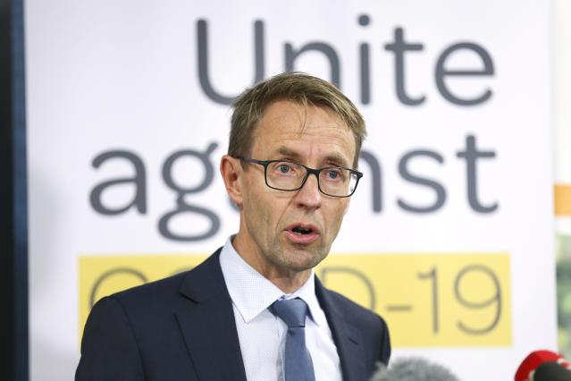 New Zealand's director-general of health, Dr Ashley Bloomfield, confirms two women have tested positive for coronavirus (Getty Images)