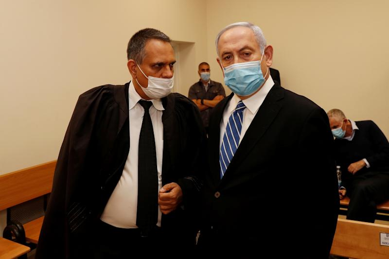 Netanyahu stands trial on corruption charges