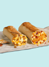 "<p><strong>Calories</strong>: 340</p><p><strong>Total Carbohydrates</strong>: 43g</p><p><strong>Saturated Fat</strong>: 3.5g</p><p><strong>Sodium</strong>: 750mg </p><p>There are burrito options at Taco Bell that involve bacon or sausage, but you can get an equal amount of protein (minus additional salt!) by ask for light potatoes on this option and extra eggs, Sassos recommends. Build <a href=""https://www.tacobell.com/food/breakfast/cheesy-toasted-breakfast-burrito-potato"" rel=""nofollow noopener"" target=""_blank"" data-ylk=""slk:your custom burrito"" class=""link rapid-noclick-resp"">your custom burrito</a> using the chain's app — while the cheese sauce only has 30 calories total, you can also nix that if you prefer a cheeseless 'rito.</p><p><a class=""link rapid-noclick-resp"" href=""https://www.tacobell.com/food/breakfast/cheesy-toasted-breakfast-burrito-potato"" rel=""nofollow noopener"" target=""_blank"" data-ylk=""slk:Order Now"">Order Now</a></p><p><strong>Nutrition Lab Pro Tip</strong>: Rather than double up on extra cheese, consider ordering a few packets of Taco Bell's salsa packets, which only contain 50mg sodium (calorie free!). If you catch your Taco Bell location in between breakfast and lunch hours, Sassos recommends springing for a soft chicken taco ""al fresco"" — it comes loaded with fresh ingredients and contains half the calories of this breakfast alternative.</p>"
