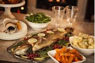 "<p>More specifically, seven fishes. Chalk that iconic tradition up to New Jersey's heavy Italian culinary influences. </p><p>Get the <a href=""https://www.delish.com/cooking/recipe-ideas/a21960798/best-baked-cod-fish-recipe/"" rel=""nofollow noopener"" target=""_blank"" data-ylk=""slk:recipe"" class=""link rapid-noclick-resp"">recipe</a>.</p>"