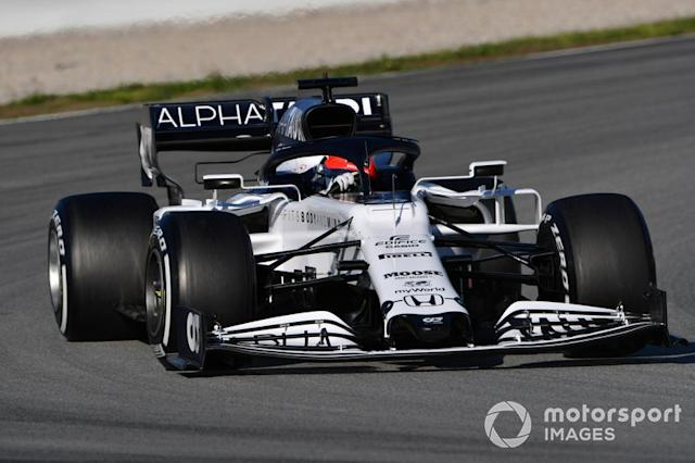 "Daniil Kvyat, AlphaTauri AT01 <span class=""copyright"">Mark Sutton / Motorsport Images</span>"