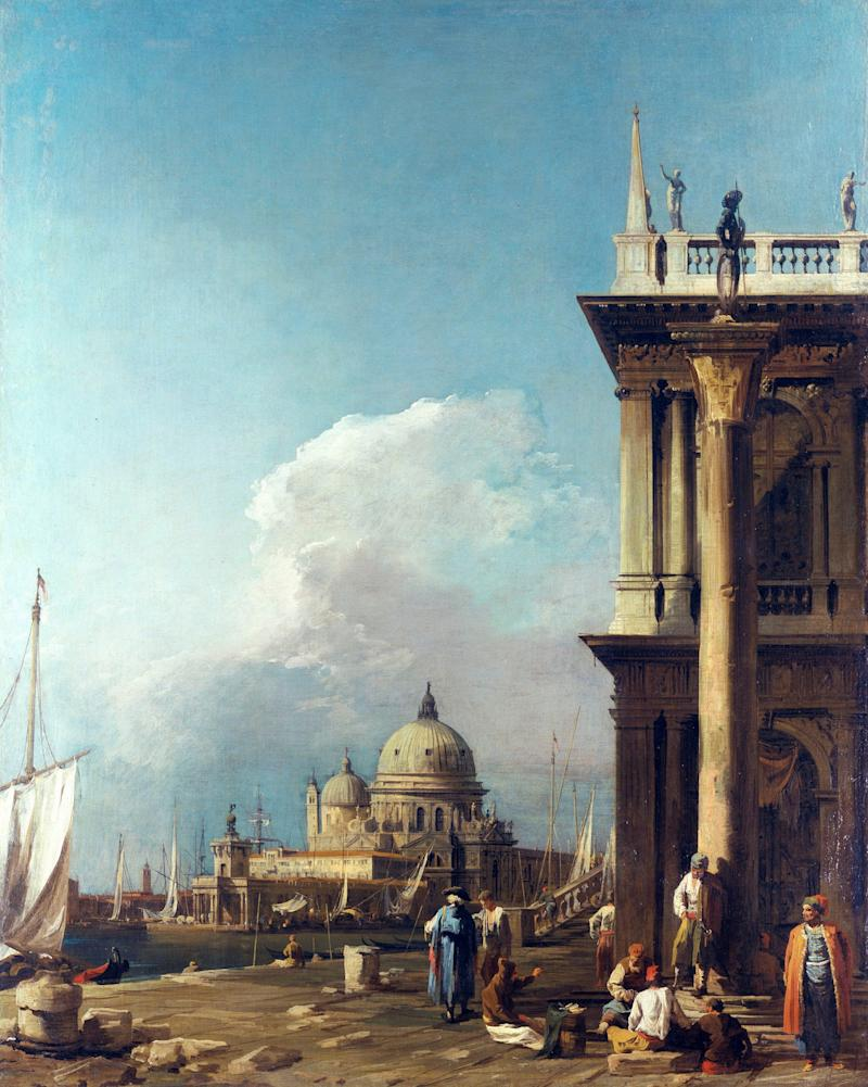 The piazzetta looking towards Santa Maria della Salute c.1723-4 - Credit: Royal Collection Trust