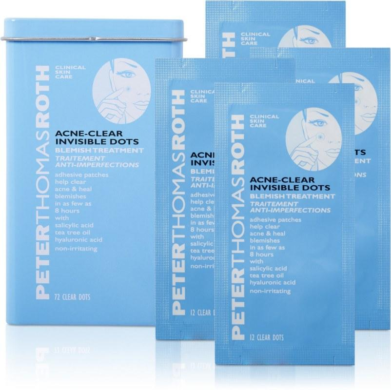 "<p>Although most acne patches themselves provide the mechanism that helps draw out the icky stuff in zits, some — like Peter Thomas Roth's Acne-Clear Invisible Dots — are also infused with additional blemish-busting ingredients. In these, you'll find salicylic acid and tea tree oil, both of which are known to help clear acne, so you're getting multiple layers of benefits.</p> <p><strong>$32</strong> (<a href=""https://www.sephora.com/product/acne-clear-invisible-dots-P399932"">Shop Now</a>)</p>"