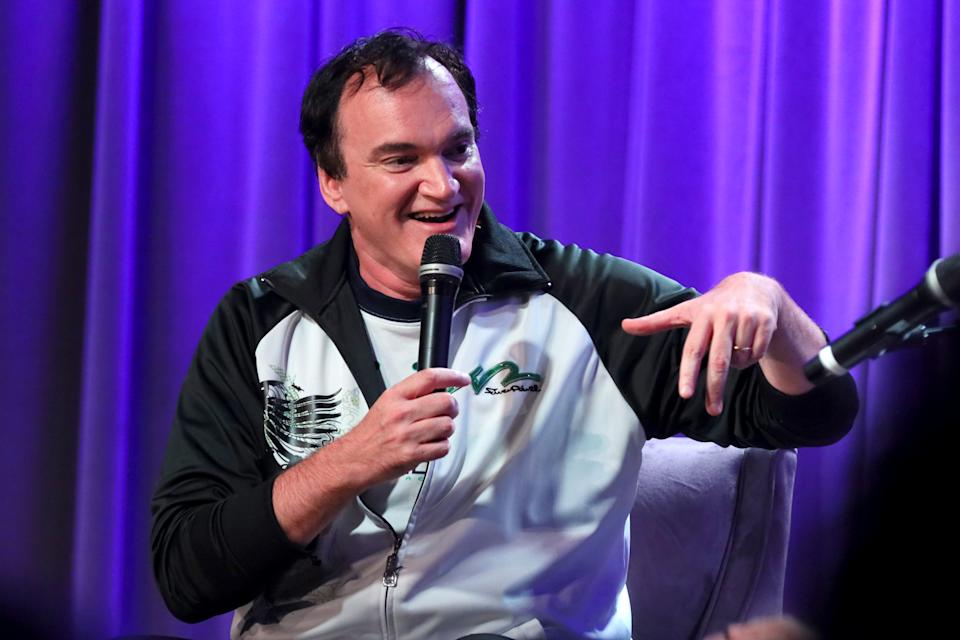 Quentin Tarantino speaks onstage at an event on October 02, 2019. (Photo by Rebecca Sapp/Getty Images for The Recording Academy )